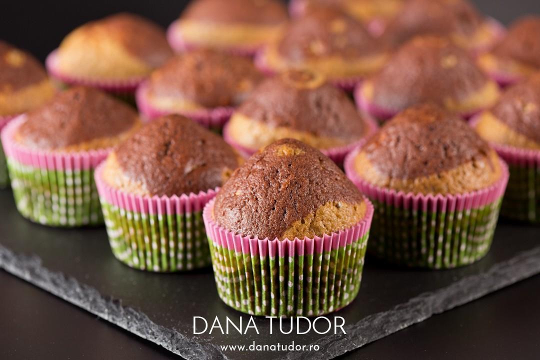 Muffins trei arome