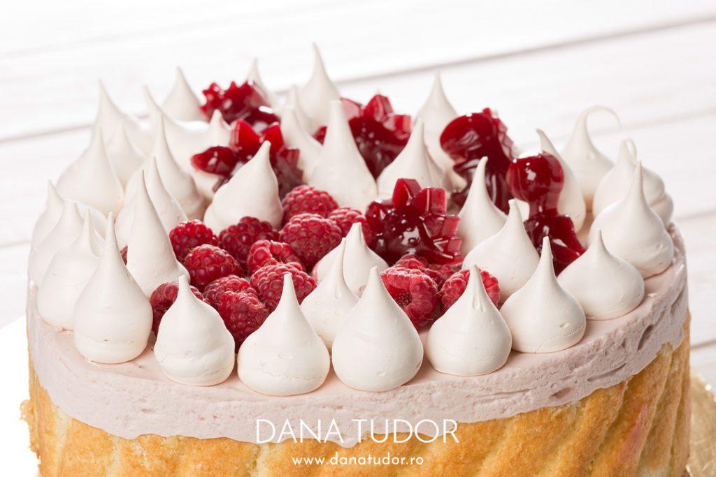 Tort Fantezie de vara cu pepene rosu si zmeura
